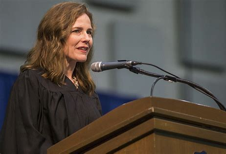 Amy Coney Barrett. Image courtesy of Politico