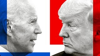 Presidential Candidates Joe Biden of the Democratic Party and Incumbent President Donald Trump for the Republican Party.