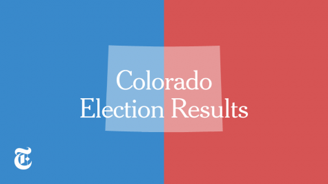 Colorado Election Results - Photo from the New York Times