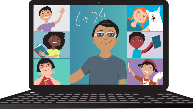 During remote learning, teachers have to learn to use the remote education system with different types of courses. (Teacherfy)