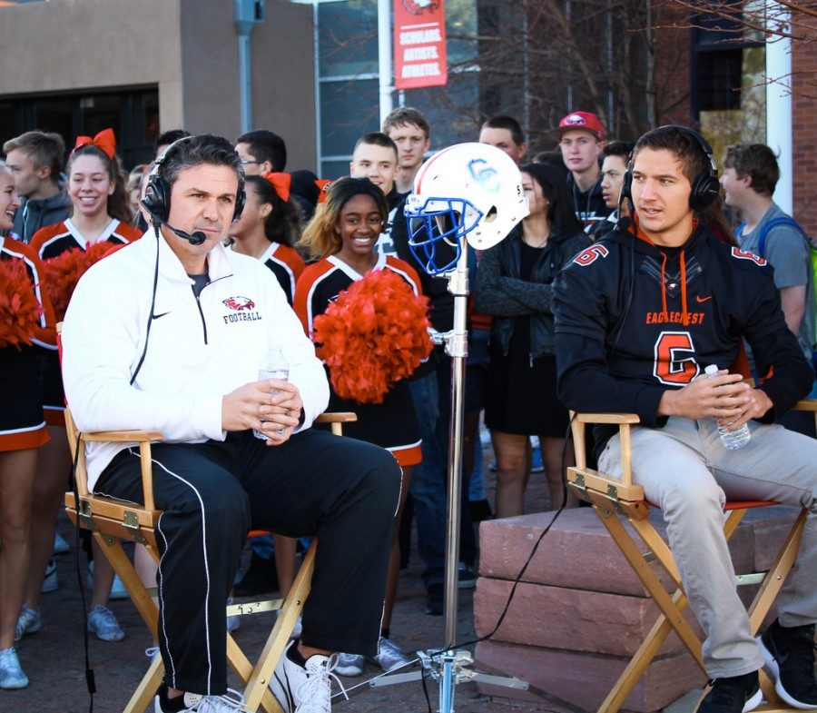 Talking A Big Game: Former Head Coach Mike Schmitt and quarterback/defensive back Jalen Mergerson discuss plans for the postseason with The Denver Post's Kyle Newman.