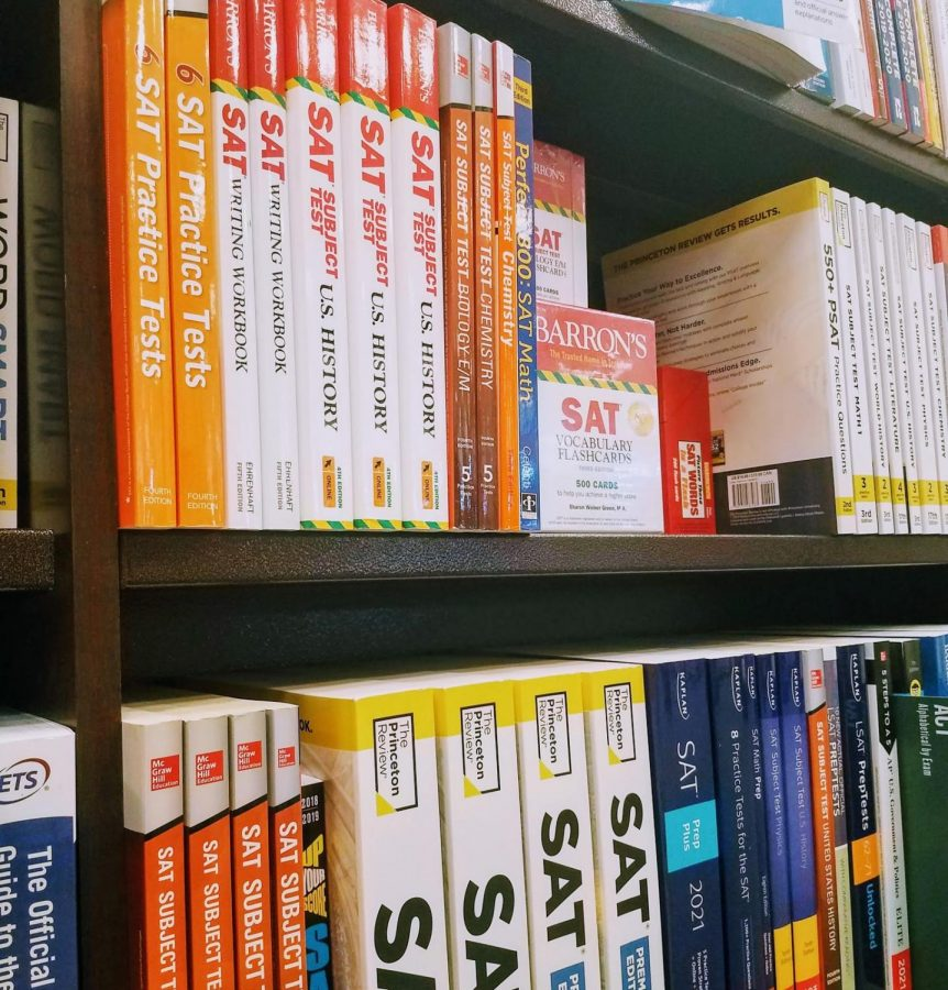 SAT practice books available at Barnes & Noble Bookstore.