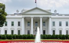 Image of the White House during the summer as seen from the North Lawn and Pennsylvania Avenue in Washington, D.C. Image Courtesy of the United States Government.