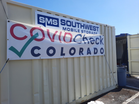 Drive up locations like the one at the ISF building near Eaglecrest provide free COVID-19 testing Monday through Friday --and even vaccines, in some places. Appointments can be made at https://covidcheckcolorado.org/.